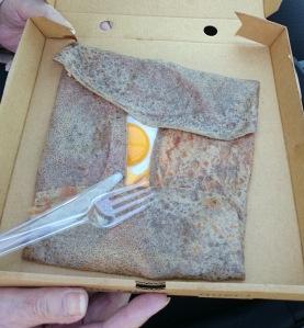 Galette breakfast