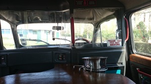 Black cab adapté au handicap