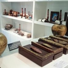 Boîtes cadre chocolat. Tout se mange, l'intérieur avec ses ganaches et palets chocolatés, mais le contenant est aussi à grignoter.