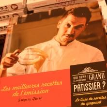 Fin du Pastry Show, et direction la séance de dédicaces pour Grégory Quéré.