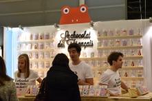 """A l'heure où l'on célèbre le """"made in France"""", le Salon du Chocolat, véritable étendard de l'art de vivre, est un bel exemple d'entreprenariat et de réussite française... La relève est parmi nous !"""