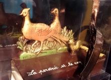 """fable de """"La Perdrix et le coq"""" visualisable en 2D et croquable par la même occasion."""