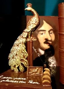 Le geai paré des plumes du Paon, Fable de Jean de la Fontaine.
