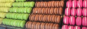 Patchwork macarons