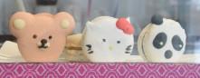 Macarons cute et personnalisés