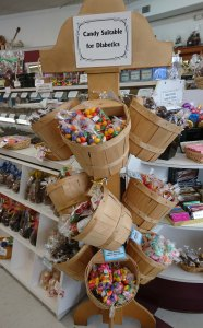 Bonbons adaptés aux personnes diabétiques