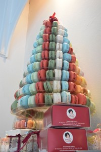 pyramide de macarons multicolore de French Made Baking