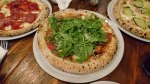 pizza prosciutto et rucola, pizza jambon et roquette